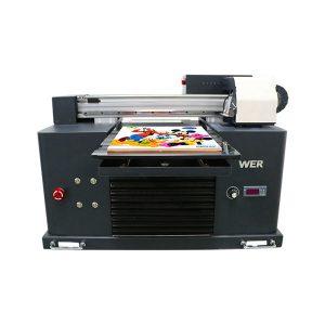 ocbestjet diqqət kiçik printer a4 ölçülü digital çap maşın uv flatbed printer