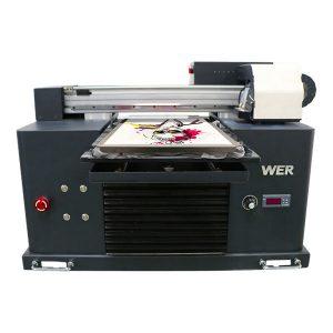 yüksək keyfiyyətli və aşağı qiymət eko solvent flatbed printer ucuz qiymət / rəqəmsal flatbed t-shirt printer