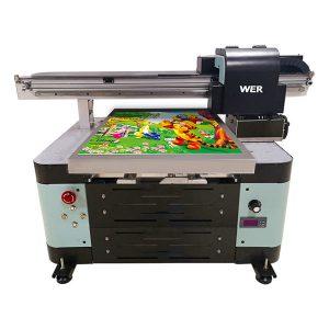 Metal / telefon halda / şüşə / qələm / kubok üçün A2 ölçülü uv flatbed printer