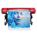 geniş format 6 rəng flexo banner sticker solvent inkjet printer