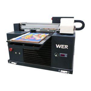 a3 uv printer, qabaqcıl kiçik ölçülü avtomatik uv flatbed printer