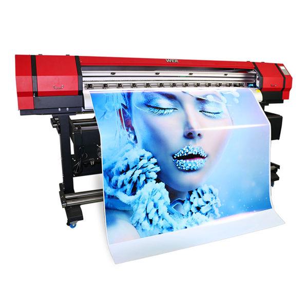 1.6m açıq qapalı eco solvent kiçik pvc vinil printer