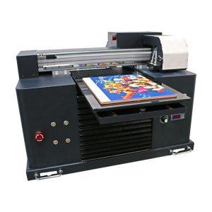 Yeni Dizayn Mini Led Düzbucaqlı A3 A4 Ölçü Masaüstü Epson UV Printer
