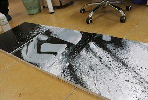 WER-G2513UV geniş formatlı UV yazıcı tərəfindən çap olunmuş billboard 2