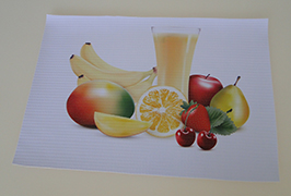 PVC banner 3.2m (10 fut) eko solvent printer WER-ES3201 ilə çap edilmişdir