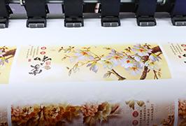 1.8m (6 fut) eko solvent printer WER-ES1802 tərəfindən hazırlanmış Self Yapışqanlı Vinil