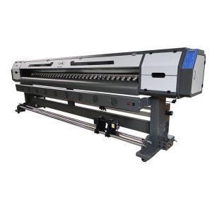 3.2m dgi 5113 baş eco solvent yazıcılar 10 metr fənər pankart basma maşını